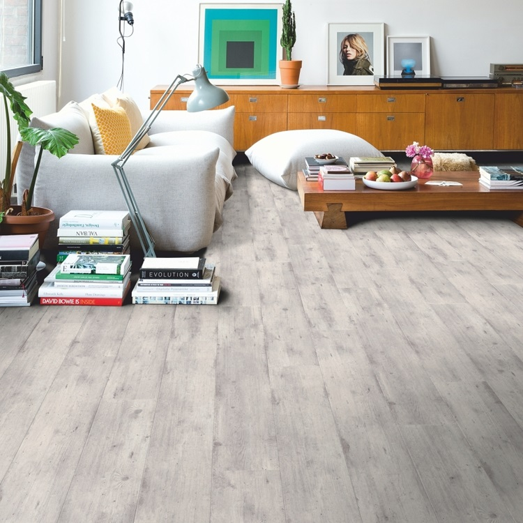 Quickstep Concrete Wood Laminate Flooring